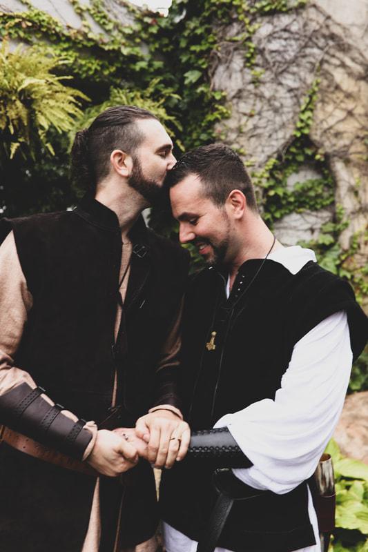 Brig & Adam's MN Renaissance Festival Wedding