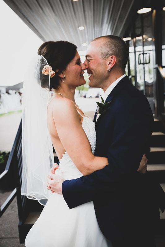 Wil & Jess | Wisconsin Modern Industrial Wedding